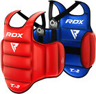 RDX Martial Arts Chest Protector Body Armour Training Guard MMA Boxing Belly Pad