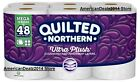 Quilted Northern Ultra Plush Bath Tissue, 48 OR 96 Double Ro