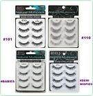NEW 4 Pairs ARDELL PROFESSIONAL NATURAL MULTIPACK EYELASHES. PICK ANY ONE