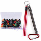 "Wacky Rig O-Ring O rings Worm Fishing Tool for Stick Baits 3 4'' 5""& 6"" Senkos"