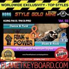 82 NEW SUPER STYLES Dance Funk & Blues Rock Korg PA1X PA1X PRO EDITION 2017