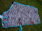 Horse Fly Sheet Summer Spring Airflow Mesh UV Zebra 7321