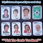 ☆ A&BC 1972 Football Card Game (FAIR) *Pick The Cards You Need*