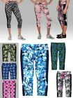 LADIES POLY/SPANDEX, CALF-LENGTH CAPRIS PANT, KEY POCKET, WIDE WAISTBAND, XS-2XL