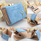 Fashion Women Leather Wallet Button Clutch Lady Short Card Holder Purse Handbags