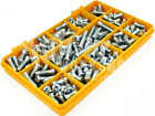 170 ASSORTED M6 EURO SCREWS FOR KITCHEN CABINETS, DOORS WARDROBES & CUPBOARD KIT