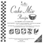 Quilt Pattern ~ Cake Mix Recipe Cards ~ Miss Rosie's ~ Choose Different Sets