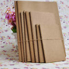 Kraft paper notebook blank notepad book vintage journal notebooks Top UK