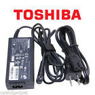 Original OEM Toshiba 45W-65W AC Charger Power Adapter Cord For Satellite series