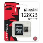 Card Memory Kingston 128GB Micro SD Clase10 Phone for BQ Aquaris Models