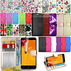 For Vodafone Smart Turbo 7 Wallet Leather Case Flip Book Cover+Screen Protector