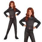 Rubies Girls Official Marvel Avengers Black Widow Fancy Dress Costume Outfit