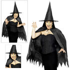 Smiffys Horror Womens Witch Instant Set Ladies Halloween Fancy Dress Costume