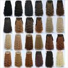 "22"" 90g Soft Kinky Curly Ribbon Ponytail Hairpiece Clip In Hair Extensions"