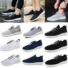 Fashion Mens Mesh Running Shoes Sport Outdoor Light Sneakers Rubber Casual New