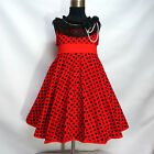 Kids Reds Black Christmas Wedding Party Flower Girls Dresses SIZE 2,3,4,5,6,7,8T