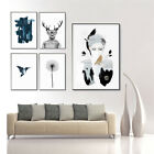 Abstract Nordic  Landscape Tropical Plant Home Decorative Painting Wall Picture