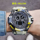 Men's Quartz Analog Alarm Date Digital Watch 30M Waterproof Military Wristwatch