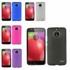 For Motorola Moto E4 Frosted TPU Rubber Candy Skin Gel Back Case Cover