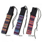 Adjustable 75-130cm Cotton Leather Bohemian Ukulele Guitar Strap with Tail Nail for sale