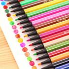 12/18/24X/SET Felt Tip Fibre Marker Pens Assorted Colours Colouring Washable LD