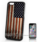 ( For iPhone 4 5 5C SE 6 6S 7 Plus ) Back Case Cover A10226 American Flag