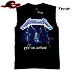 Metallica - Ride The Lightning - Classic Modified Cut-Off Band Singlet