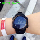Men's Alarm Date LED Digital Watch 30M Waterproof Rubber Sports Wristwatch