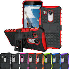 Rugged Hybrid Stand Case Armor Hard Shockproof Cover For LG Google Nexus 5X