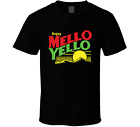 MELLO YELLO T SHIRT COLE TRICKLE 51 DAYS OF THUNDER RETRO VINTAGE BLACK MENS TEE image