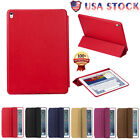 USA Luxury Slim Stand Leather Magnetic Folio Cover Smart Case For iPad Pro 9.7''