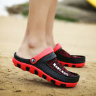 Mens Summer Mesh Hollow Out  Sandals Breathable Slippers Soft Beach Home Shoes