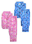 Kids PJs New Boys Girls Brushed 100% Cotton Pyjama Winter Set Ages 2 - 6 Years