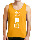 Dancing Despacito Mens Tank Top Luis Fonsi Concert Party Tanks for Men - 1825C