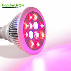 PopularGrow 12W/36W LED Grow Light Bulb E27 For Indoor Hydroponic Plant Growth