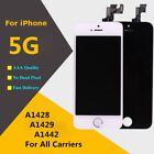 LCD Touch Screen Digitizer Assembly Replacement For iPhone 5 A1428 A1429 A1442