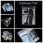 7 x 10 cm Thick Grip Seal Poly PVC Plastic Self Resealable Packaging Bags