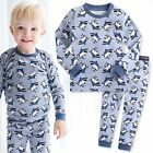 "Vaenait Baby Infant Toddler Kids Boys Clothes Pyjama Set ""King Shark"" 12M-7T"