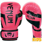 Venum Kid's Elite Boxing Gloves (Neo Pink)