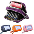 Fashion Mini Genuine Real Leather Credit ID Business Card Holder Pocket Wallet