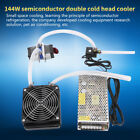 144W Dual-chip Semi-conductrice Thermoelectric Peltier TEC1-12706 Cooler Water