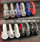 beats by dre solo 3 studio 2 wireless on ear headphones black white rose gold