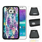 Painted Feathers Samsung Galaxy S6 Edge / Edge Plus Case Cover