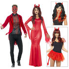 Smiffys Adults Devil Halloween Day Of The Dead Fancy Dress Costumes Or Accessory