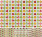 Set of 4 Large Pvc Placemats Easy Wipe Down Clean Place Mats Bright Coloured