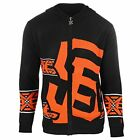Forever Collectibles MLB Mens San Francisco Giants Men's Full Zip Hooded Sweater