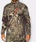 New Under Armour UA 1/4 Zip Infrared Jacket Hunting Camo Realtree Max5 M/L/XL/2X