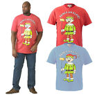 Duke D555 Mens Elfie Big Tall King Size Novelty Christmas Jingle Bells T Shirt