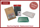 SNOOZA FLEA FREE DOG BED COVER, IMPROVED DESIGN, WASHABLE - MEDIUM