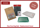 SNOOZA FLEA FREE DOG BED COVER, IMPROVED DESIGN, WASHABLE - LARGE